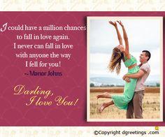 I love you darling !!