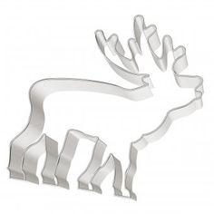 #design3000 #baking #backen #naschen #cookiecutter #deer Ausstechform Hirsch - Motivausstecher.