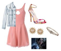 """Alison DiLaruentis (Pretty Little Liars)"" by taryngallion ❤ liked on Polyvore featuring RVCA, Steve Madden and Carolee"