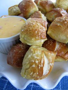Pine Cones and Acorns: 30 Minute Soft Pretzel Nuggets