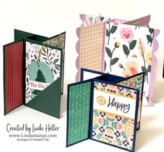 Fancy Fold Cards, Folded Cards, Cricut Cards, Stampin Up Cards, Card Making Tutorials, Card Making Techniques, Fancy Envelopes, Pop Up Box Cards, Cardmaking And Papercraft