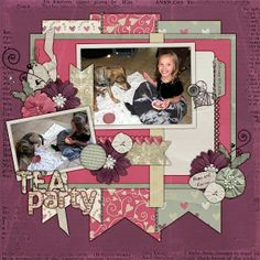 Kit: Old Fashioned Love by Scraps N Pieces Template: Pack 59 by AKDesigns Released 3/1