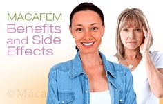 Macafem Benefits and Side Effects. Macafem is a natural and efficient way to relieve the symptoms of menopause or other hormonal disorders. However, before you decide to take Macafem, it's important to learn more about the minor and non-specific side effects it could have, as well as the full benefits it provides. http://www.macafem.com/blog/macafem-benefits-side-effects/ #menopause #healthyliving