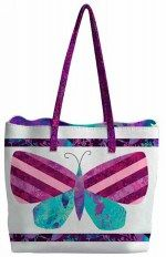 Mariposa Meadow Tote Bag - Free Sewing Project Download