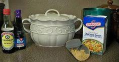 Bean Pot Teriyaki Chicken  | Bean Pot Cookbook  | Celebrating Home Bean Pot Recipes | Celebrating Home Bean Pot