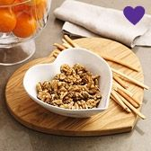 Buy At Home > Kitchen Accessories > Oak Heart Chopping Board from The White Company