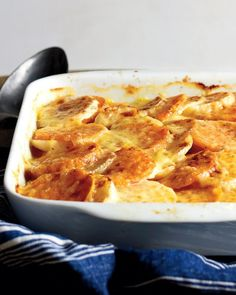 Turnip and Sweet Potato Gratin | Martha Stewart  |  Local, Organic Turnips are available in the Greenling.com #LocalBox! #ShopLocal