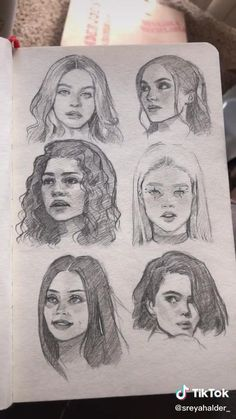 Kpop Drawings, Pencil Art Drawings, Art Drawings Sketches, Person Sketch, Harry Styles Drawing, Art With Meaning, Desenhos Harry Potter, Art Diary, Arte Sketchbook