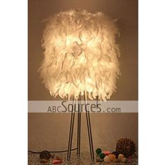 China wholesale purple round table lamps decorative lamps floor china wholesale fashion feather cloth table lamp decorative lamp feather lamp mozeypictures Choice Image