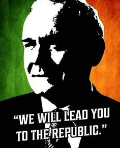 """Martin McGuinness. """"We will lead you to the Republic"""""""