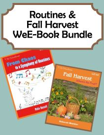 Routines & Fall Harvest WeE-Book Bundle FREE!  Find the ad in the newest issue of the magazine for the coupon code to get this FREE!!  http://www.thehomeschoolmagazine-digital.com/thehomeschoolmagazine/2014x5/#pg176