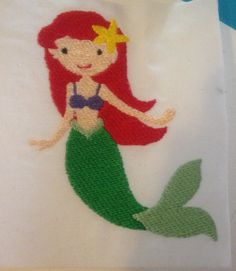 Ariel: Miss Mary's Embroidery