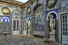 Palacio da Fronteira, Lisbon, Portugal.