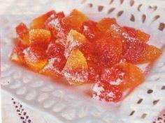 Bonbony ze želé Mini Cakes, Peach, Candy, Ds, Food, Gummi Candy, Essen, Peaches, Meals