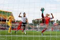 Steph Houghton of England clears the ball during the FIFA Women's World Cup Canada 2015 Third Place Play-off match between Germany and England at Commonwealth Stadium on July 4, 2015 in Edmonton, Canada.