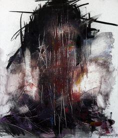 [26] Untitled Oil & Charcoal  On Panel 53 X 45 by ShinKwangHo.deviantart.com on @deviantART