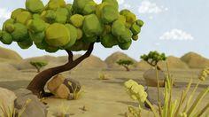 Savanna by Dana Ilan   Cartoon   3D   CGSociety