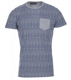 Jagged Aztec T Shirt, £12.99