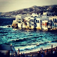 If I could go anywhere in the world I'd go to GREECE