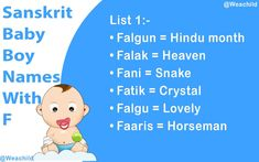 Looking for a Sanskrit Baby Names Starting With F? Then your search is over here. You are in the right place. Welcome to weawords Sanskrit baby boy names collection. Sanskrit Baby Boy Names, Hindu Baby Boy Names, Baby Names, Lord Shiva Names, Krishna Names, Baby Boys, Winnie The Pooh, Meant To Be, Alphabet