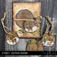 2019 sizzix chpt. 4 christmas: | Tim Holtz Christmas Cards To Make, Christmas Gift Tags, Xmas Cards, Handmade Christmas, Holiday Cards, Christmas Crafts, Chrismas Cards, Tim Holtz Dies, Sizzix Dies