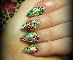 Nail Designs by Sarah | via Facebook