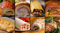 9 Mind-Blowing Party Food Rolls by Tasty