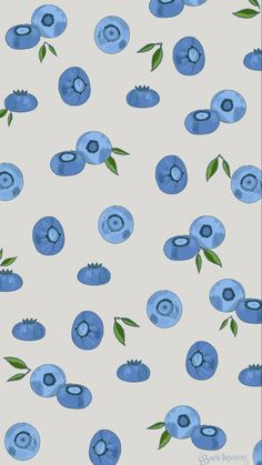 Cute / Illustrated / Blueberry Wallpaper