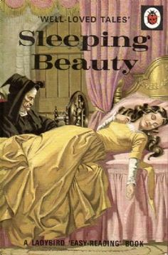 SLEEPING BEAUTY Vintage Ladybird Book Well Loved Tales Series 606d Matt Hardback 1975