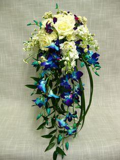 blue orchids | Wedding Ideas | Pinterest | Wedding