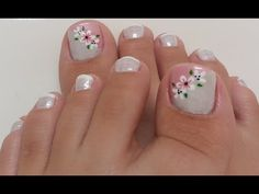 Healthy living at home devero login account access account Nail Art Designs Videos, Fall Nail Art Designs, Toe Nail Designs, Pretty Toe Nails, Cute Toe Nails, Toe Nail Color, Toe Nail Art, Flower Toe Nails, Summer Toe Nails