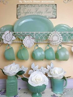 Spring into the season with these 7 simple decor tips and tour my vintage southern home! Southern Homes, Vintage Dishes, Spring Home, House Tours, Retro Vintage, Easy Diy, Planter Pots, Finding Yourself, Bloom
