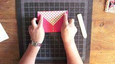 scrapbooking tutorial for pocket album ♥