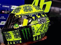 Rossi winter Helmet test sepang 2015