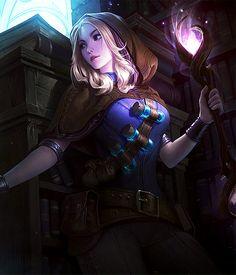"The Huntress Fairy Tale — aurelinsol:    ""Lighting the way.""     Spellthief..."