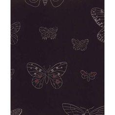 Apollo wallpaper, black, by Pihlgren & Ritola.