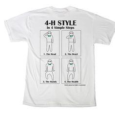 Gangnam Style? No, 4-H STYLE