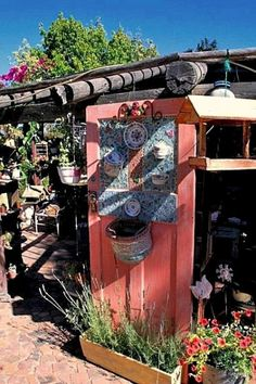 Adorable Doors: upcycled garden doors | Flea Market Gardening