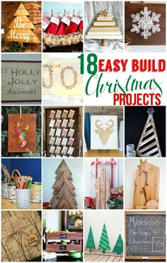easy-build-christmas-projects / scroll down