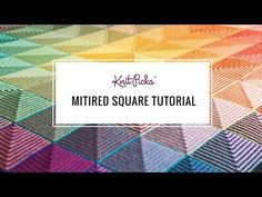 Learn to Knit a Mitered Square! - KnitPicks Staff Knitting Blog
