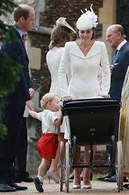 Image result for princess charlotte christening