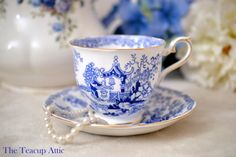 Royal Albert Teacup and Saucer Mikado English by TheTeacupAttic