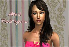 Lowi♥Sims: ★Update★ ts2 sim - Alma Rodriguez