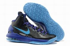 8ae669ca6fc90 Authentic Nike Zoom KD V Black Pack Black Blue Glow Basketball Shoe For  Wholesale. Zapatos ...