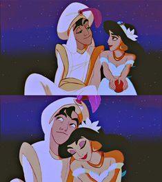I'm Jasmine which great since Aladdin has always been my favorite Disney prince
