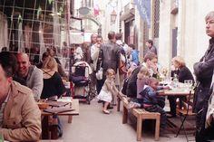 Le Marché des Enfants Rouges  39 Rue de Bretagne  75003 (For yummy food -- it's one of the oldest market in Paris) via *miss little lime: *Paris Guide