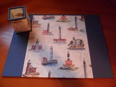 Con papel de faros Home Decor, Lighthouses, Desktop, Notebooks, Blue Nails, Paper Envelopes, Decoration Home, Room Decor, Interior Decorating