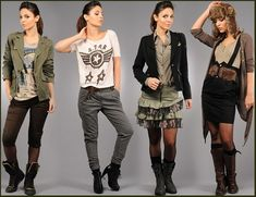 Latest Army Fashion Dresses For Women