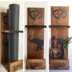 Yogamatholders.com  For the #yogaelephant fans. Custom #yogamat holders. many styles and colors.
