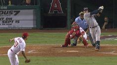 MLB - YouTube (9/12/2015): Carlos Javier Correa's (Houston Astros) 18th HR (Solo HR) of 2015 Season (18th MLB Career HR) @ Angel Stadium of Anaheim, Los Angeles Angels.